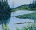 Yukon Pond by Helen Grainger Wilson (thumbnail)