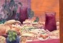 Sangria and Tapas, San Sebastian by Helen Grainger Wilson (thumbnail)
