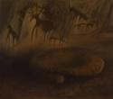 Idaho Petroglyphs & Metate by Helen Grainger Wilson (thumbnail)