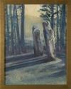 Russian Cemetery, Sitka II by Helen Grainger Wilson (thumbnail)