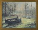 Russian Cemetery, Sitka VI by Helen Grainger Wilson (thumbnail)