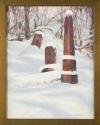 Russian Cemetery, Sitka XII by Helen Grainger Wilson (thumbnail)