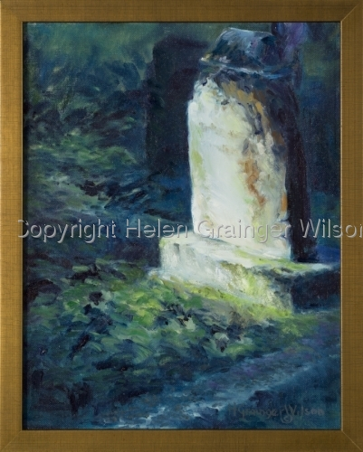 Russian Cemetery, Sitka I by Helen Grainger Wilson (large view)