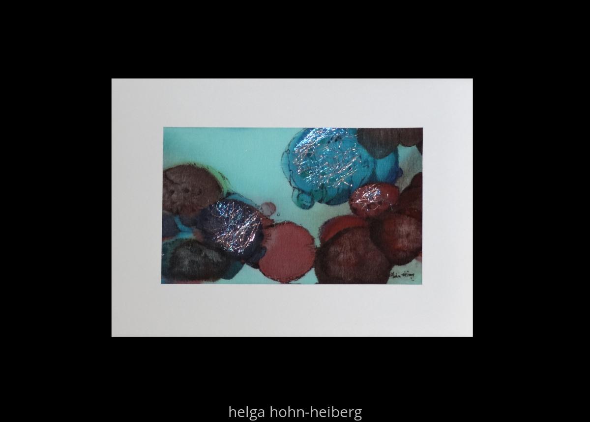 Fiber Art Greeting Cards Originals Original Art By Helga Hohn