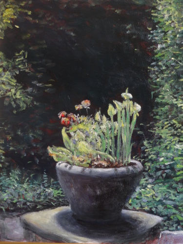 Garden pot by Herb Eilertsen