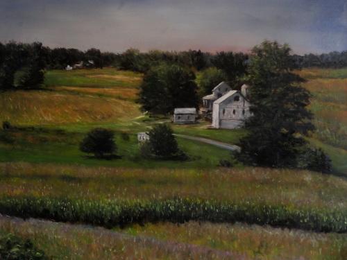 Farm in Parkesburg by Herb Eilertsen