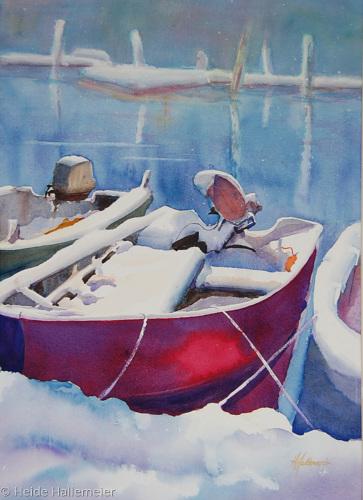 Winter Blanket by Heide Hallemeier