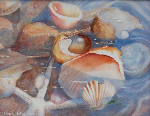 Beach Symphony by Heide Hallemeier