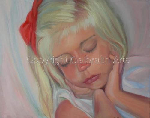 Anna's Red Bow by Harry Galbraith