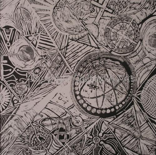 Random Universe I by Galbraith Arts