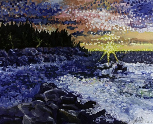 Lake Superior by Galbraith Arts