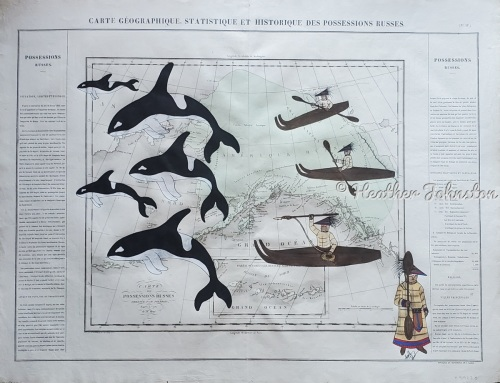 Whalers Expedition, The Family Hunt   (Sold)