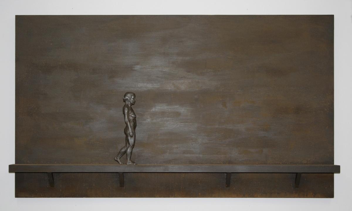 Figure Walking by Harold Kalmus (large view)