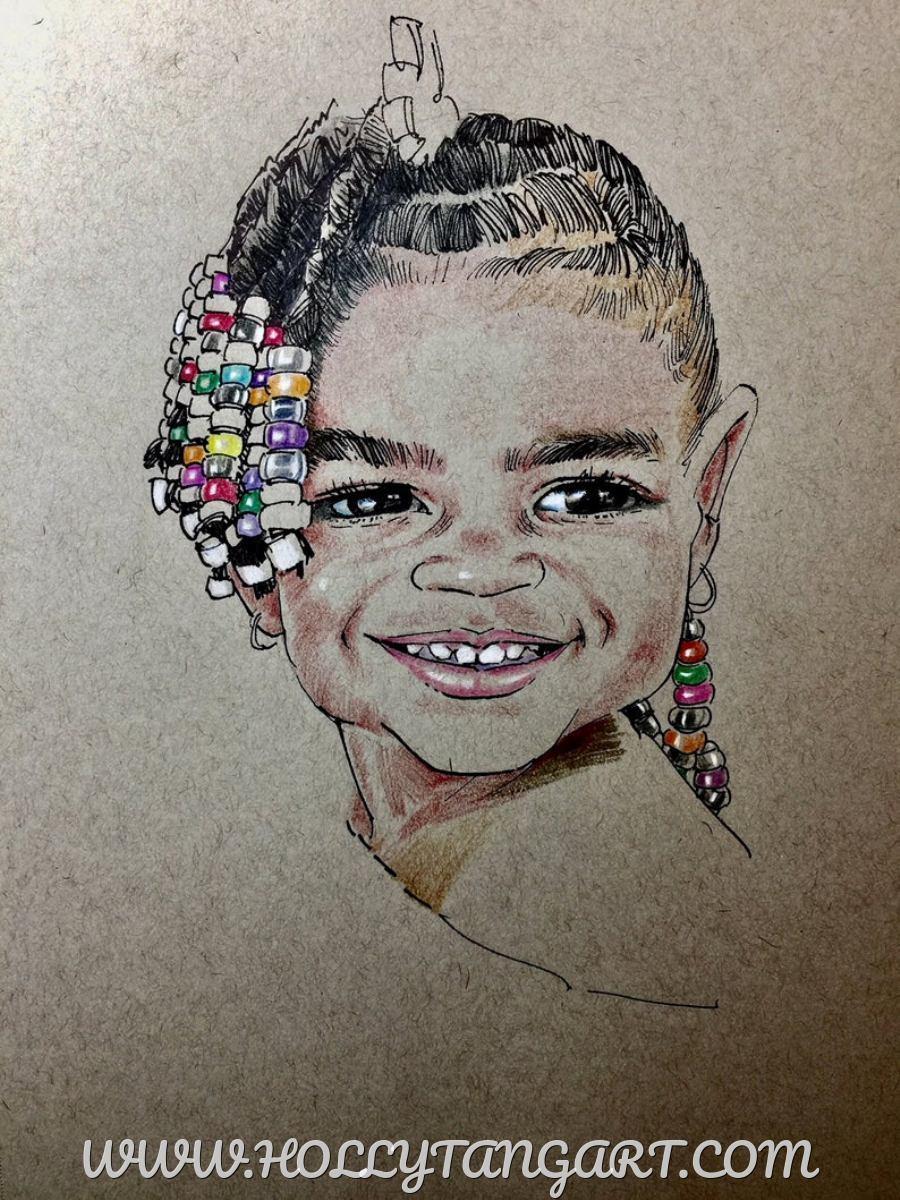 Child, Family Portrait, Custom Portrait (large view)