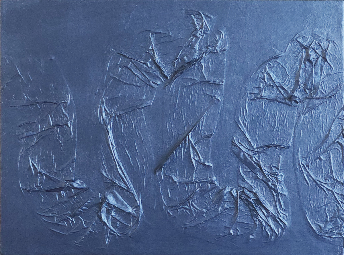 Untitled (Loops Blue) (large view)