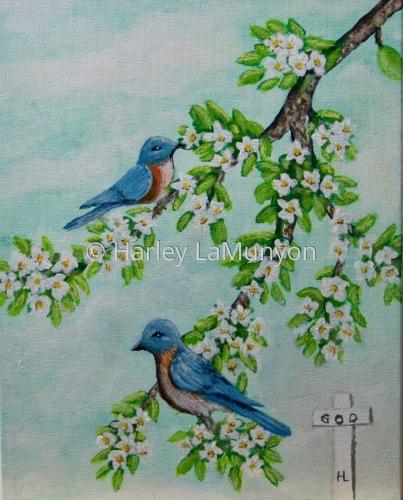 Birds of Spring #16