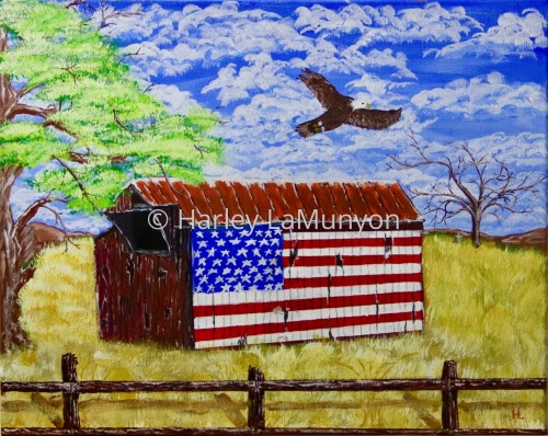 Flag Barn on Vasco Rd #28