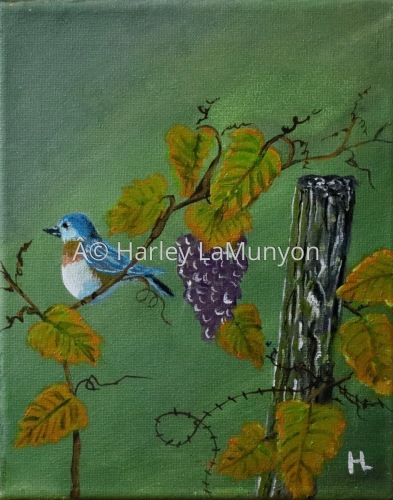 Bird on the Vine #59