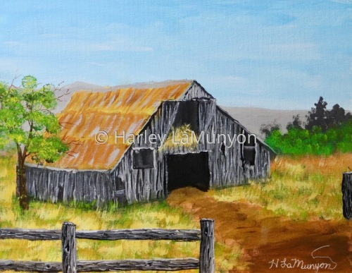 Barn in the Smoky Mountains #72