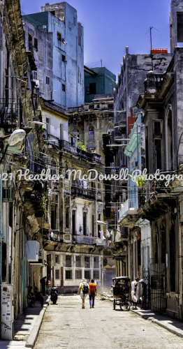 Havana Cityscape by Heather McDowell