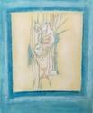 Painting--Acrylic-AbstractOrganics Roots 2