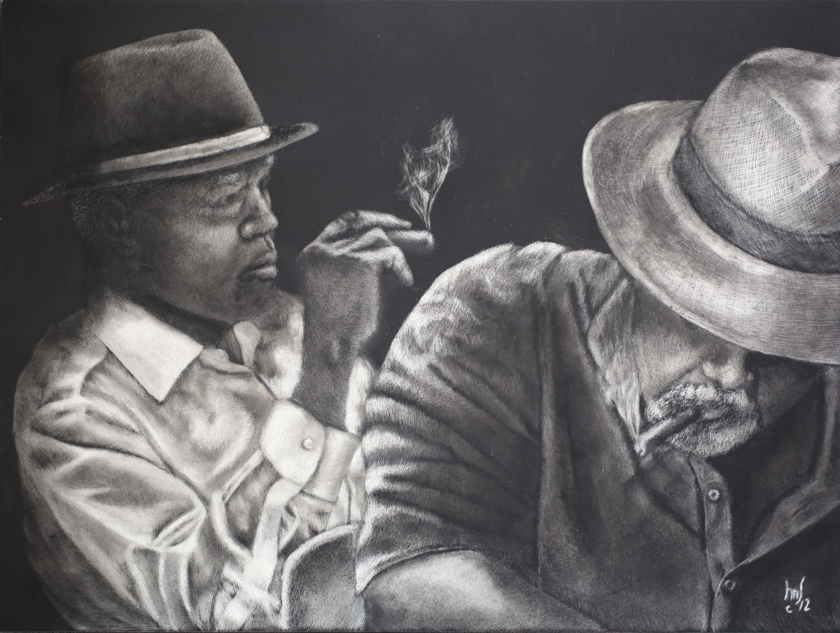 Cigar Smokers (Donated) (large view)