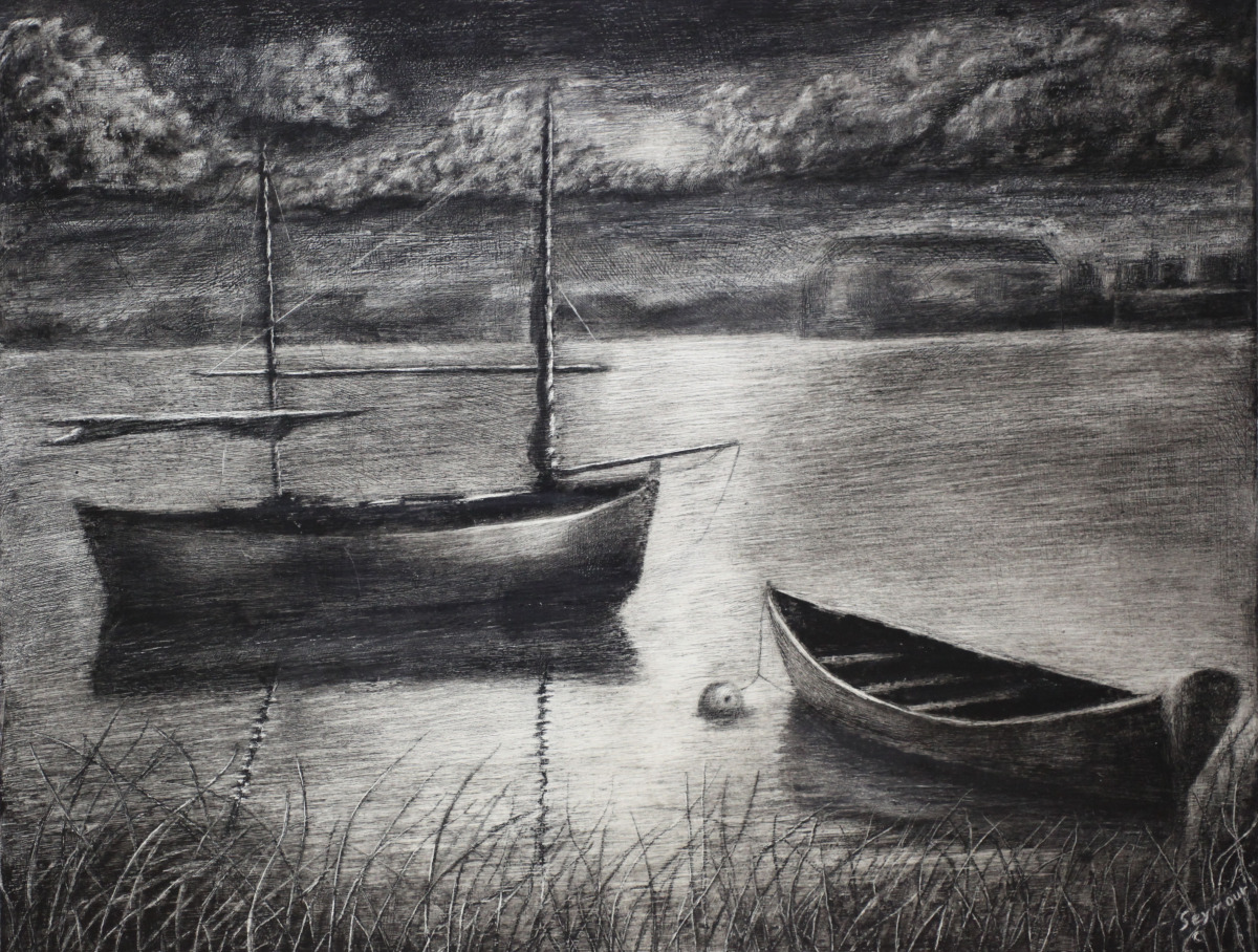 Serenity in Black and White (Sold-2000) (large view)