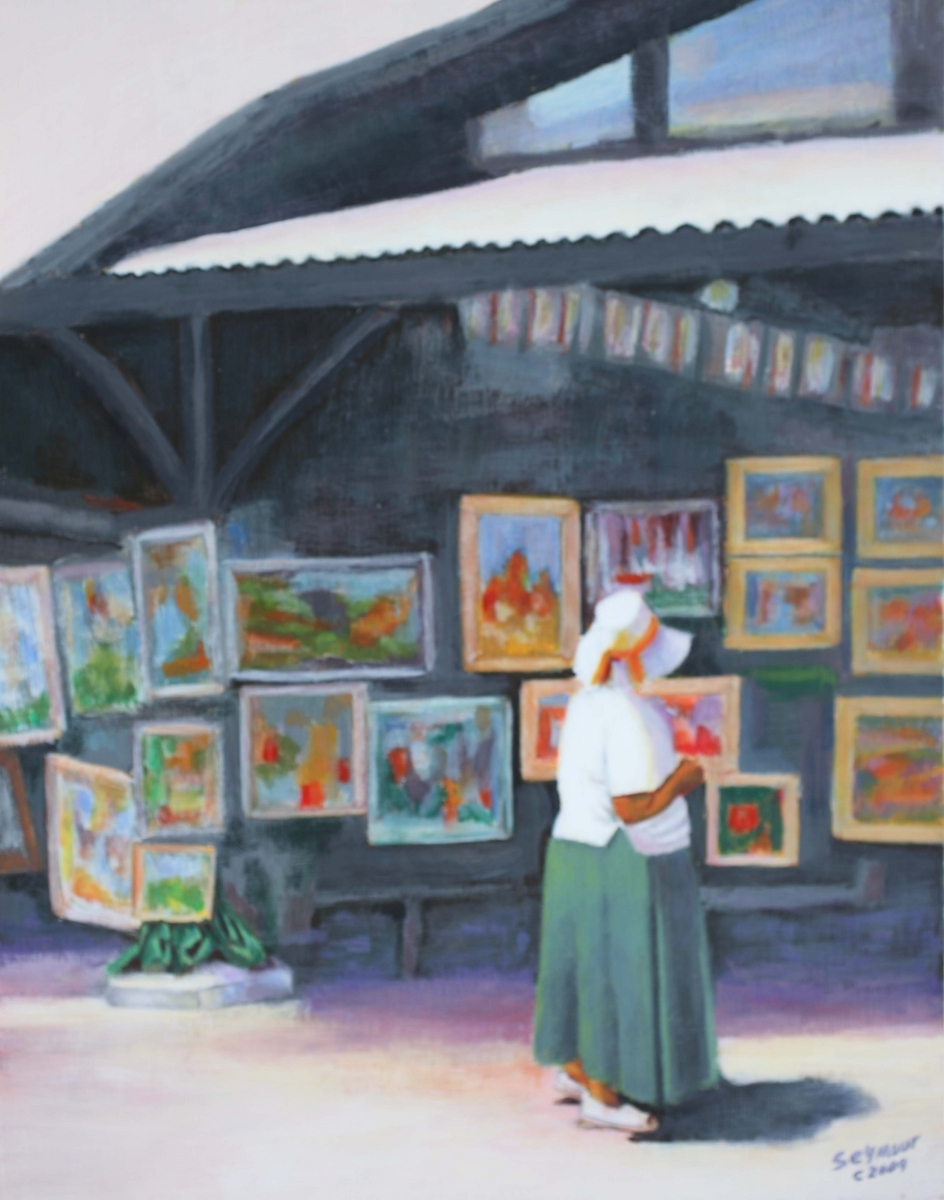 All Island Art Show (Sold $2500) (large view)