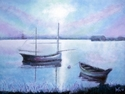 Painting--Egg Tempera-ImpressionismSerenity
