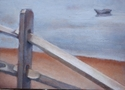 The Fence (Sold $1000) (thumbnail)