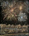 Oak Bluffs Fireworks (Sold $3000) (thumbnail)