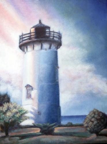 Oak Bluffs Light House (SOLD-$4000) (large view)