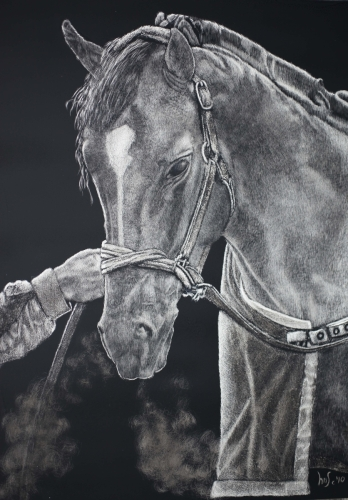 Race Horse (Sold $3000) (large view)