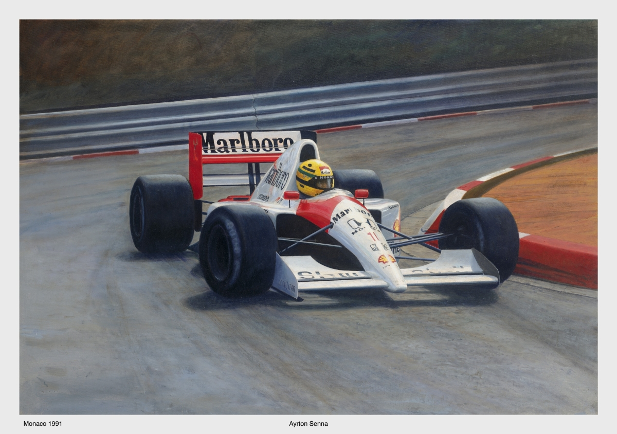 Senna Monaco 1991 (large view)