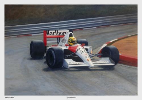Senna Monaco 1991 by O Hoffstad