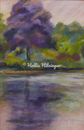 Purples for Kate by Hollie Hilzinger