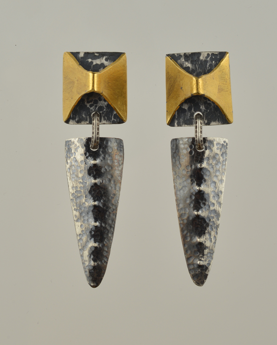 Double Axe Earrings (large view)