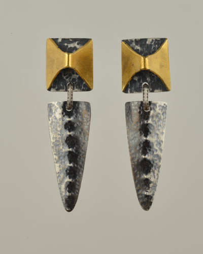 Double Axe Earrings