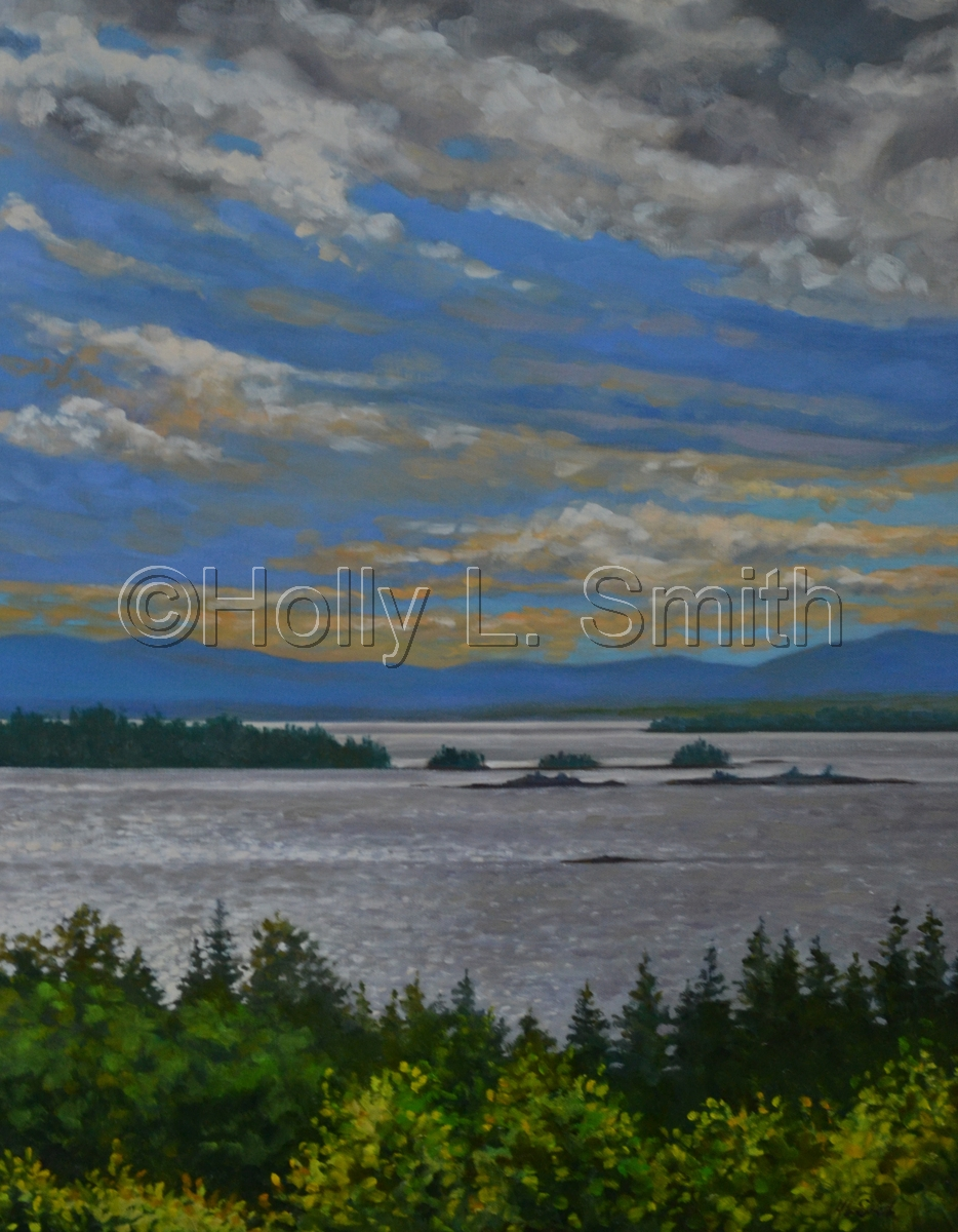 """""""Sunset View From Eagle Island""""SOLD (large view)"""