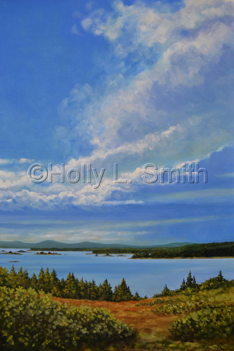 Stormfront Approaches Eagle Island/Sold (large view)