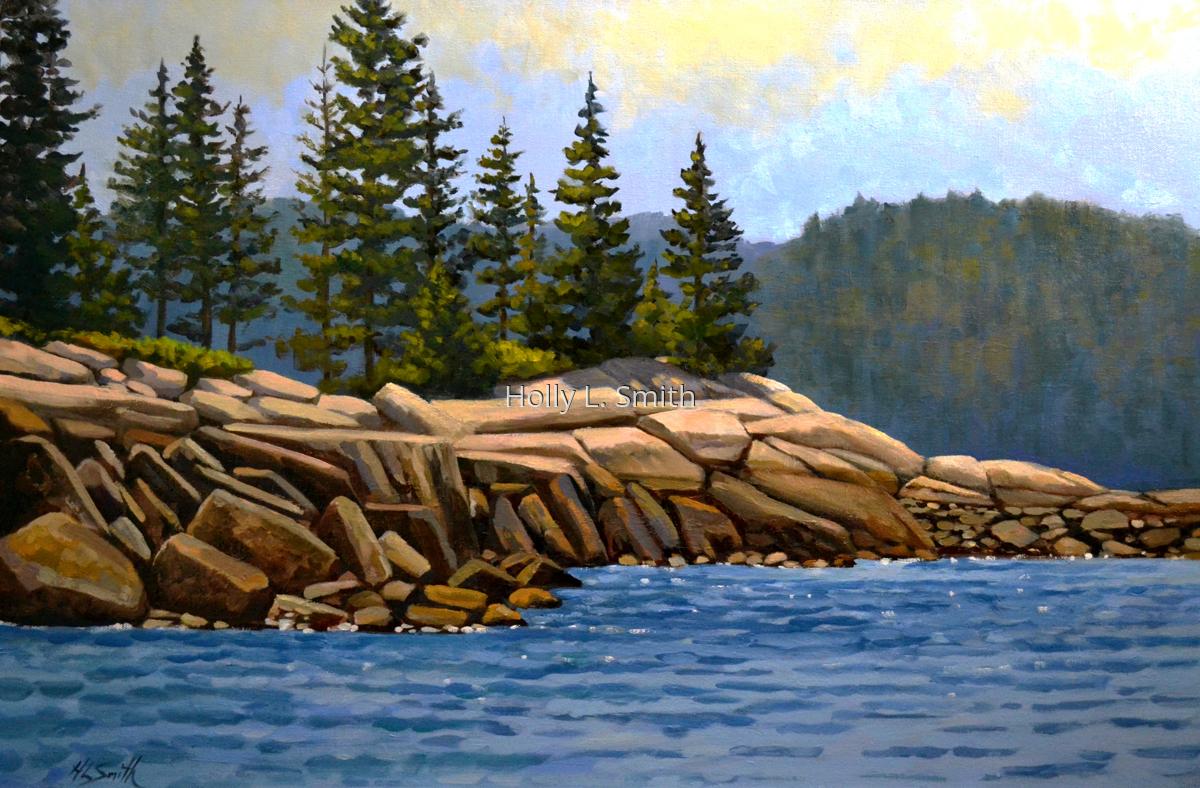 Vinalhaven Granite Shores (large view)