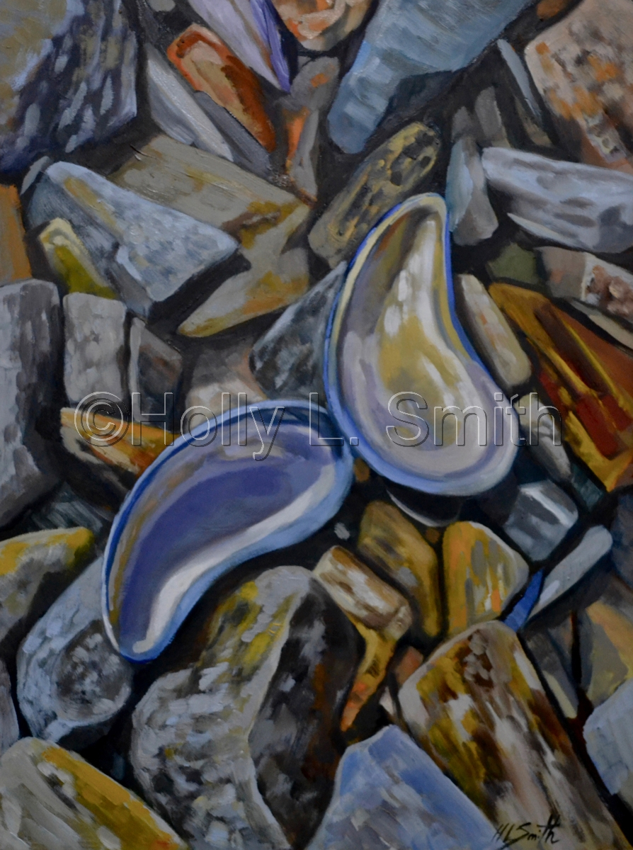 The Dance Of The Mussel Shells/Sold (large view)