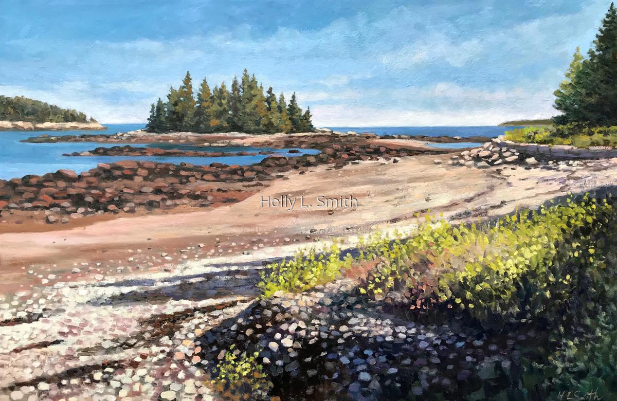 Beach At Acadia (large view)