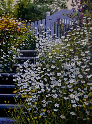 Garden Gate / SOLD by Holly L. Smith