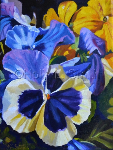 Pansies/Sold
