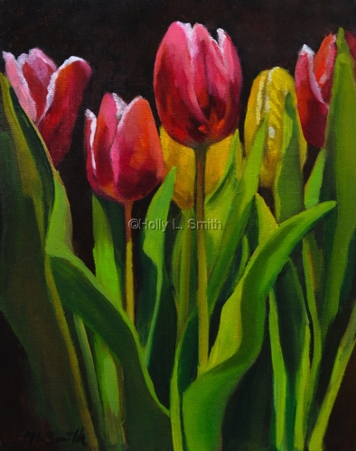 Spring Tulips /Sold (large view)