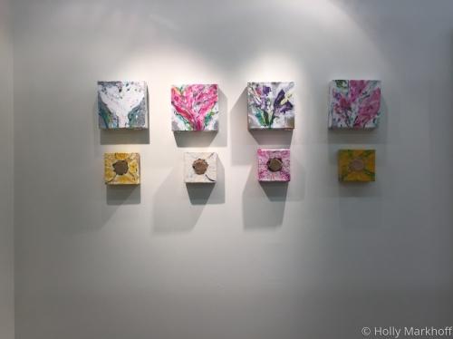 Floral Cubes