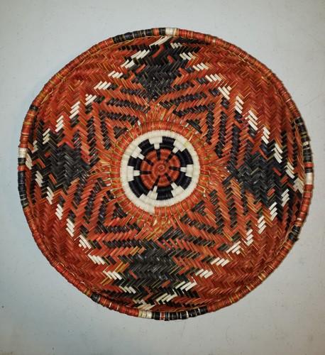 Munsi (flower) by Iva Honyestewa Hopi Basket Weaver and Jeweler Richard Honyestewa Hopi Painter & Photography