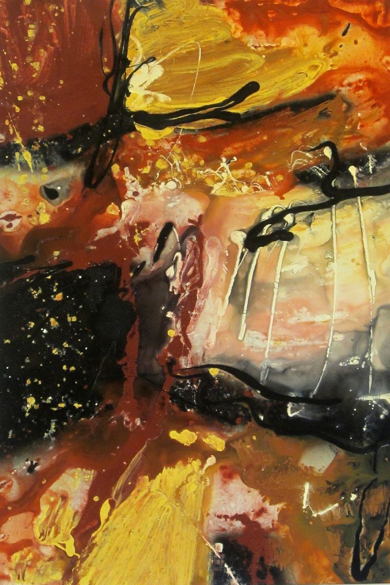 Victory 2006 Original Painting by Ryan Hopkins the Abstract Artist (large view)