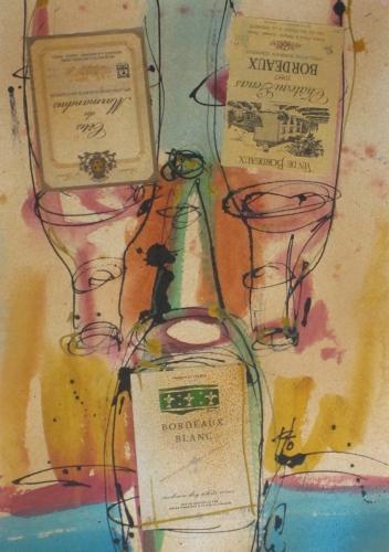 Bordeaux (Vintage Wine) (large view)